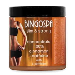 Koncentrat cynamonowo-kofeinowy z l-karnityną, concentrate 100% cinnamon-caffeine with l-carnitine 250 ml Bingospa