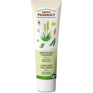 Green pharmacy, krem do rąk i paznokci aloes 100 ml Elfa Pharm