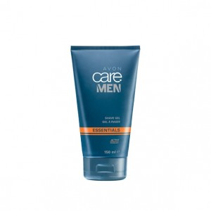 Żel do golenia z technologią Active, Care Men 150 ml Avon