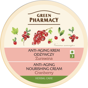 Green pharmacy anti-aging krem odżywczy żurawina 150 ml Elfa Pharm