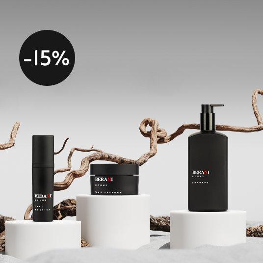 Berani Homme to linia kosmetyków będących doskonałą odpowiedzią na zmieniające się potrzeby współczesnego mężczyzny.